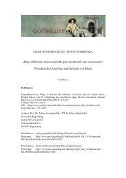 Theodizee bei Jean Paul und Heinrich von Kleist - Das ...