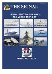 the signal april 2011 - RSL South Australia