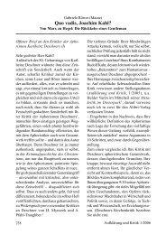 Quo vadis, Joachim Kahl? - Gesellschaft für kritische Philosophie