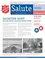 Spring Salute.indd - Salvation Army
