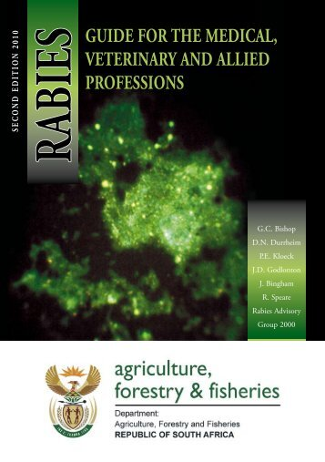 rabies Guide for the Medical, Veterinary and allied Professions