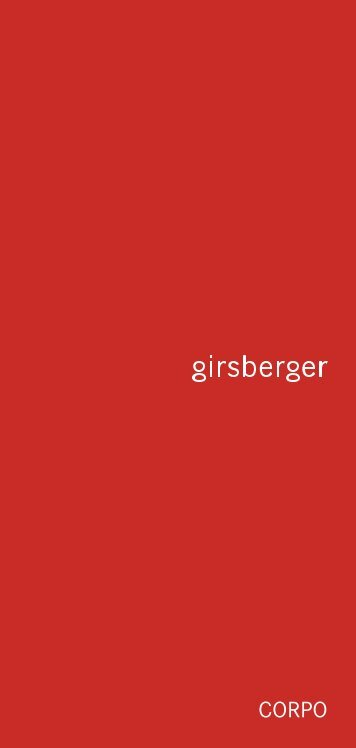 Corpo - Girsberger
