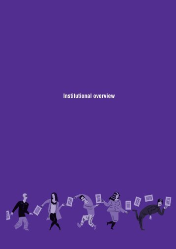 Institutional overview - Global Information Society Watch