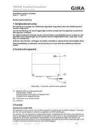 Draadloze Instabus omzetter - Gira