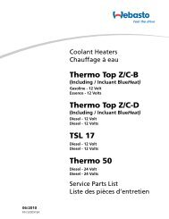 Thermo Top Z/CB Thermo Top Z/CD TSL 17 Thermo 50 - Giordano ...