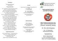 Tagungsankündigung und Call for Papers - Die GIL