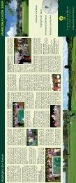 Jahresmagazin 2009 - Golfclub am Meer