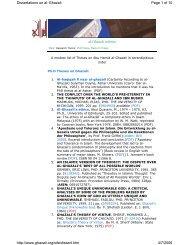 Download - al-Ghazali's Website