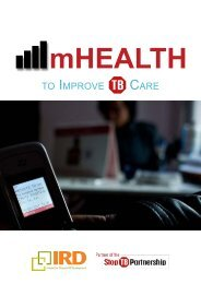 mHealth to Improve TB Care - Interactive Research and Development