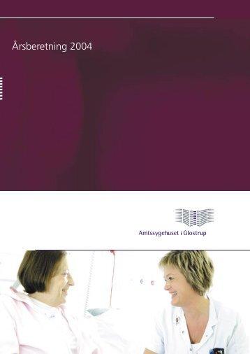 Årsberetning 2004 - Glostrup Hospital