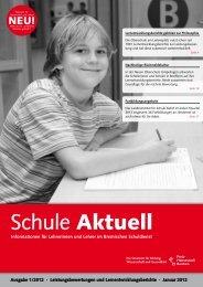 Schule Aktuell - Die Senatorin für Bildung und Wissenschaft - Bremen
