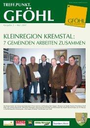 Kleinregion KreMstAl: - Stadtgemeinde Gföhl