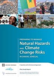 natural Hazards and Climate Change risks - GFDRR