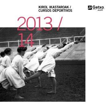 cursos de temporada 2013/14 - Getxo