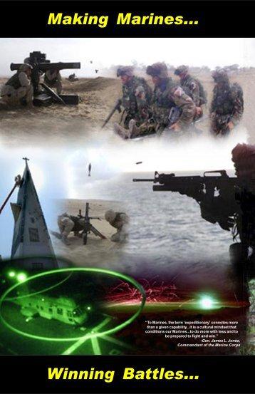 Making Marines... Winning Battles... - GlobalSecurity.org