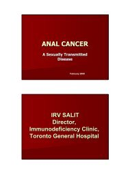 Anal Cancer: A Sexually Transmitted Disease - GMSH