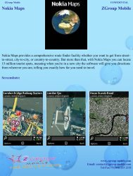 Nokia Maps ZGroup Mobile - Get Mobile game