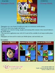 Bupuppies Puzzle ZGroup Mobile - Get Mobile game