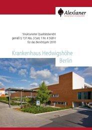 Qualitätsbericht des Krankenhauses als PDF herunterladen