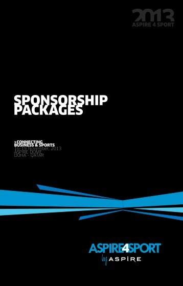 SPONSORSHIP PACKAGES
