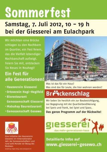 Sommerfest - GESEWO