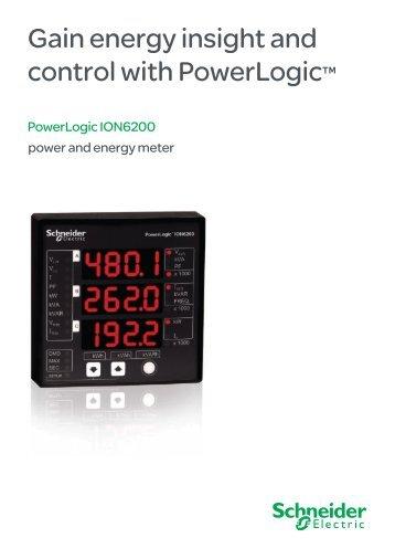 Powerlogic Energy Meter : Powerlogic ion rtu option
