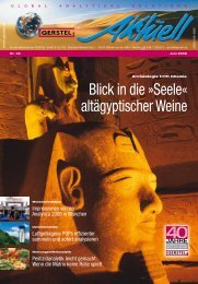 GERSTEL Aktuell Nr.39 (pdf; 2,54 MB) - Gerstel GmbH & Co.KG