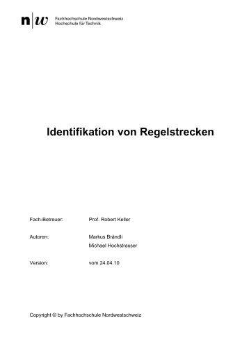 Identifikation von Regelstrecken