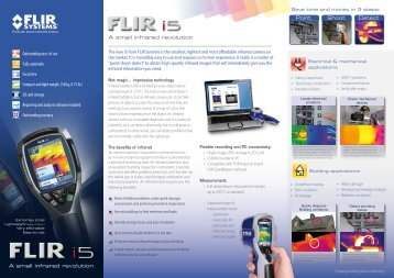 The new i5 from FLIR Systems is the smallest ... - Globe Australia