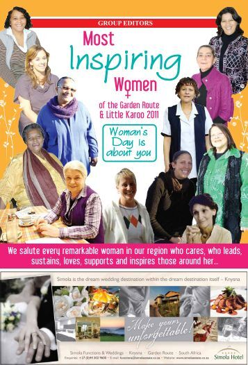 Inspirational Woman Supp Cover - George Herald