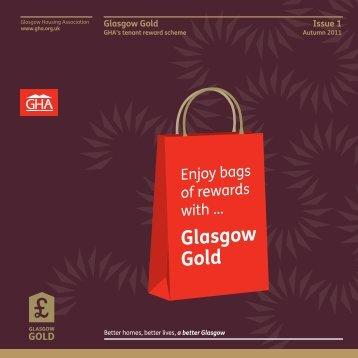 Glasgow Gold Issue 1 - Glasgow Housing Association