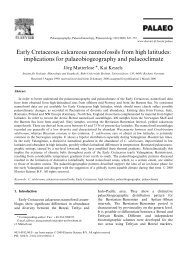 Early Cretaceous calcareous nannofossils from high ... - geo.edu.ro