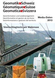 Media-Daten 2013 zum downloaden - Geomatik Schweiz