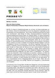 13.02.2013: Wenn der Geist nachlässt - Gemeinschaftsklinikum ...