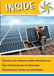 INSIDE Nr. 3/2012 - Gemeindewerke Erstfeld