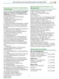 § 34 ABS. 1 DES AM 22.6.2010 - Gemeinde Bisingen