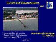 Gemeindevertretung vom 21.03.2013 - Gemeinde Binz