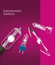 Entertainment Solutions - GE Lighting