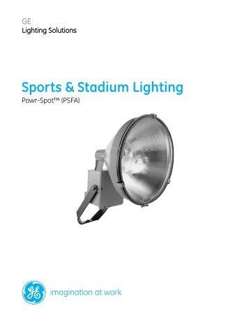 Sports Stadium Lighting Ge