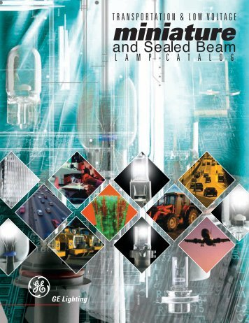 Download Catalog - GE Lighting Asia Pacific & Specialty Incandescent - GE Lighting Asia Pacific