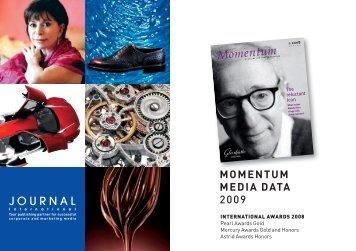 MOMENTUM MEDIA DATA - Journal International Verlags