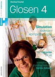 Simulation skærper kompetencerne - Glostrup Hospital