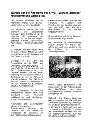 Mitbestimmung wichtig ist? - (GdP) - Kreisgruppe Recklinghausen