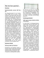 Über den Zaun geschaut… - (GdP) - Kreisgruppe Recklinghausen