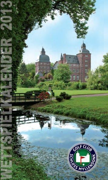 Kalender 2013 - Golfclub Schloss Myllendonk e.V.