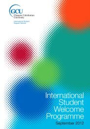 Programme Booklet - Glasgow Caledonian University