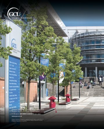 Annual Financial Statements - Glasgow Caledonian University