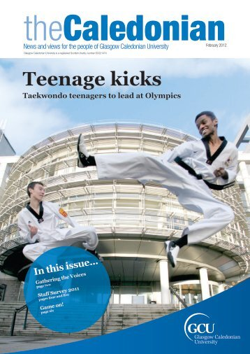 Teenage kicks - Glasgow Caledonian University