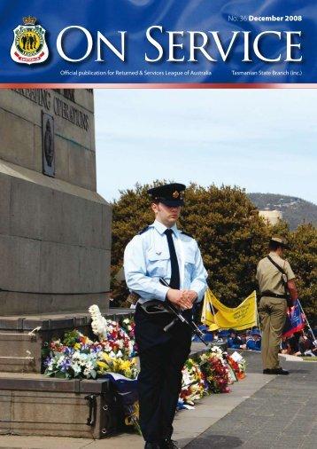 No. 36 December 2008 - RSL Tasmania