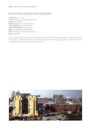 Deutsche Schule und Apartmenthaus, Peking, China - gmp ...